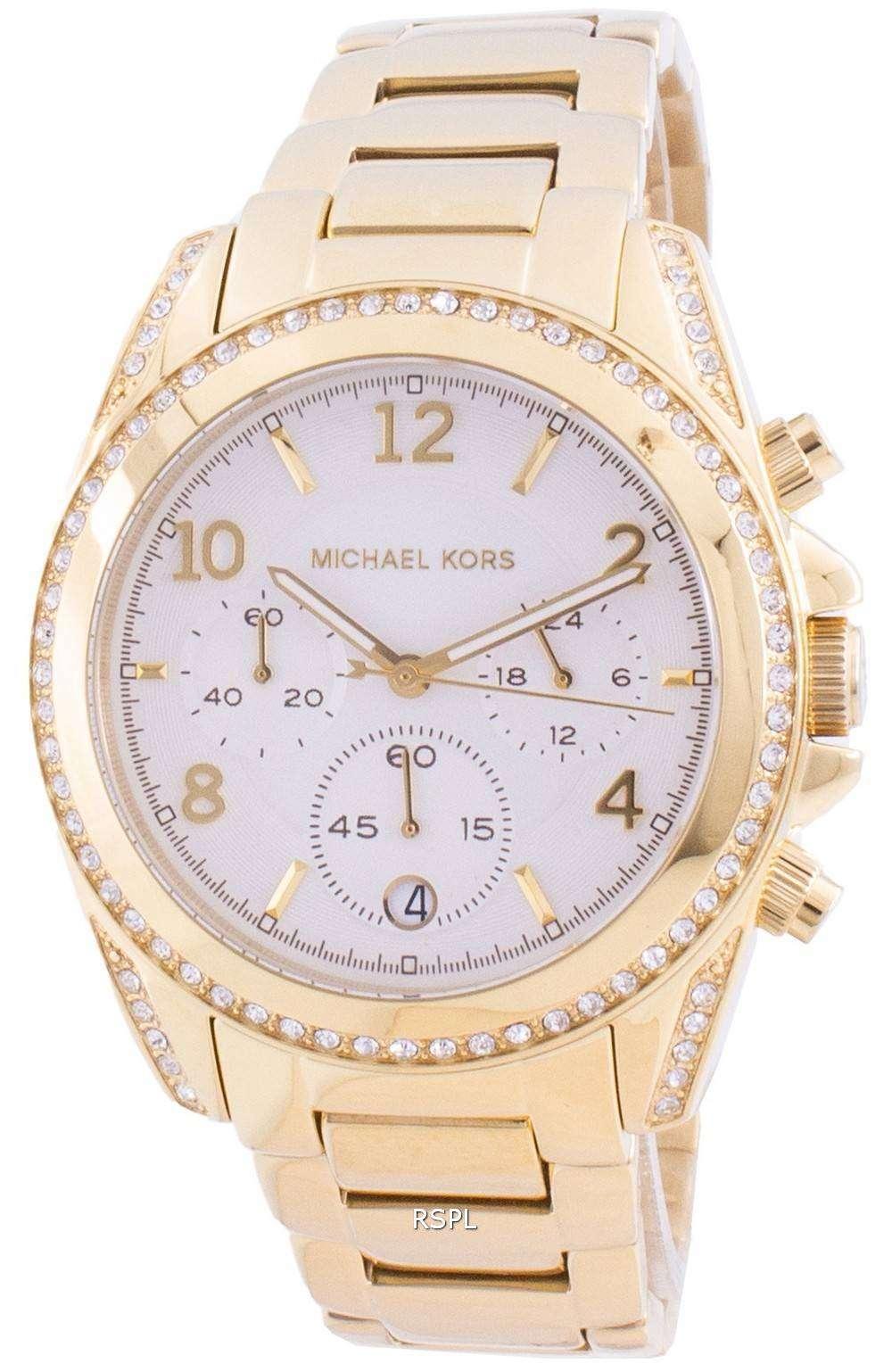 Michael Kors Blair MK6762 Reloj de mujer con detalles de diamantes de cuarzo