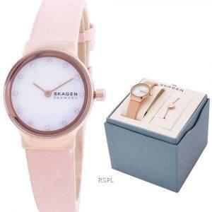 Skagen Freja SKW1113 Reloj de mujer con detalles de diamantes de cuarzo
