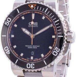 Oris Aquis Fecha 01733 7653 4128-07 8 26 01PEB 01-733-7653-4128-07-8-26-01PEB Reloj automático 300M para hombre