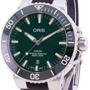 Oris Aquis Fecha 01733 7730 4157-07 5 24 10EB 01-733-7730-4157-07-5-24-10EB Reloj automático para hombres 300M