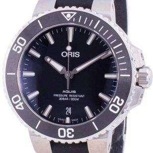 Oris Aquis Fecha 01733 7732 4124-07 4 21 64FC 01-733-7732-4124-07-4-21-64FC Automático 300M Reloj para hombre