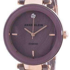 Reloj Anne Klein 1018RGMV Quartz Diamond Accents para mujer
