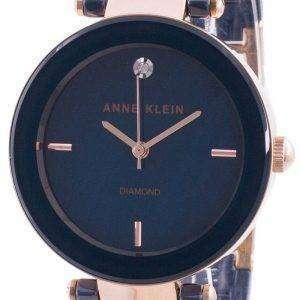 Reloj Anne Klein 1018RGNV Quartz Diamond Accents para mujer