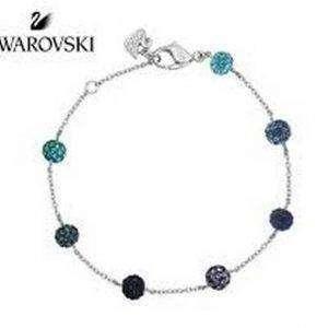 Pulsera Swarovski 1106432 Pop Blue Purple Crystal Balls Mujer