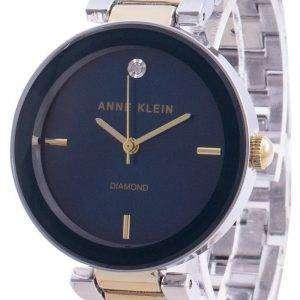 Reloj Anne Klein 1363NVTT Quartz Diamond Accents para mujer