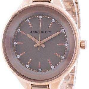 Reloj de cuarzo Anne Klein Swarovski Crystal Accented 1408TNRG para mujer
