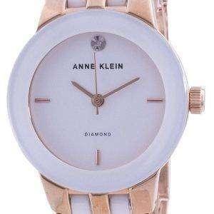 Reloj para mujer Anne Klein 1610WTRG Quartz Diamond Accents