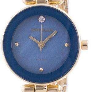 Reloj Anne Klein 1980BLGB Quartz Diamond Accents para mujer