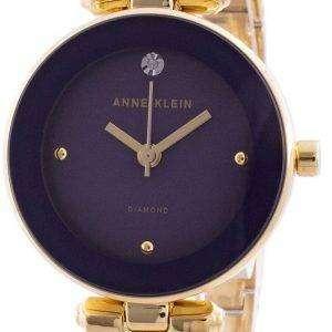 Reloj Anne Klein 1980PLGB Quartz Diamond Accents para mujer