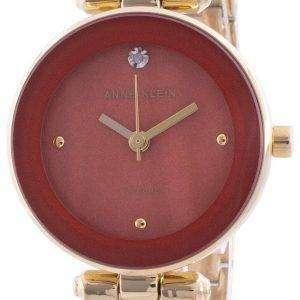 Anne Klein 1980RUGB Reloj de cuarzo con detalles de diamantes para mujer