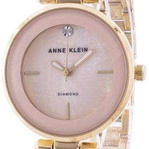 Reloj Anne Klein 2512LPGB Quartz Diamond Accents para mujer