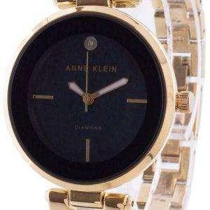 Reloj Anne Klein 2512NVGB Quartz Diamond Accents para mujer