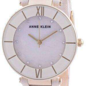 Reloj de cuarzo para mujer Anne Klein Swarovski Crystal Accented 3272GPCR