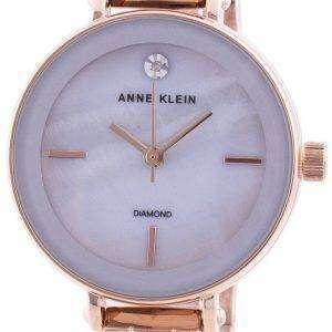 Reloj Anne Klein 3386LGRG Quartz Diamond Accents para mujer