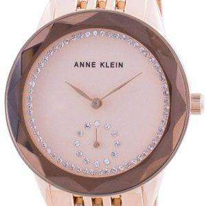 Anne Klein Swarovski Crystal Accented 3506RGRG Reloj de cuarzo para mujer