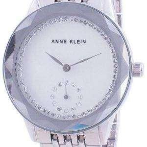 Anne Klein Swarovski Crystal Accented 3507SVSV Reloj de cuarzo para mujer