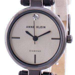 Reloj de cuarzo Anne Klein Genuine Diamond 3513GYCR para mujer