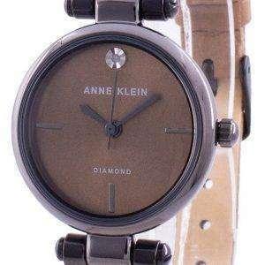 Reloj de cuarzo Anne Klein Genuine Diamond 3513GYMO para mujer