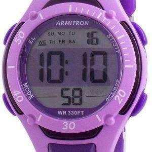 Reloj Armitron Sport 457062PUR Quartz Dual Time para mujer