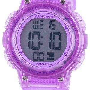 Armitron Sport 457086TPR Reloj de cuarzo para mujer
