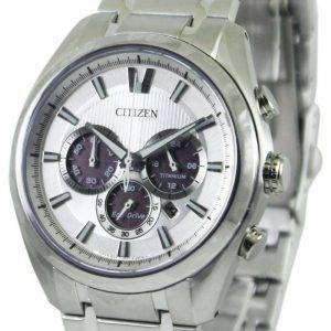 Reloj para hombre Citizen Eco-Drive Titanium Chronograph CA4010-58A