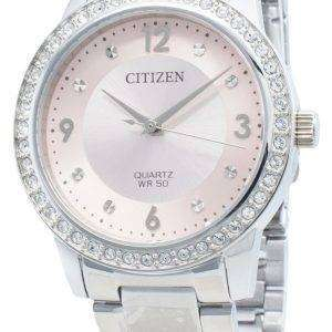 Reloj Citizen Quartz EL3090-81X Diamond Acentos para mujer