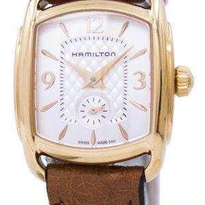 Hamilton American Classic Bagley cuarzo H12341555 reloj para mujer