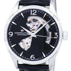 Hamilton Jazzmaster Viewmatic Open Heart automático H32705731 reloj para hombre