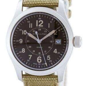 Reloj de hombre Hamilton Khaki con cuarzo archivado hecho en Suiza H68201993