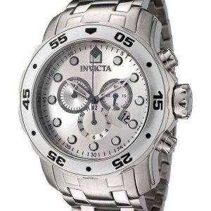 Reloj Invicta Pro Diver Cuarzo Cronógrafo Dial de plata INV0071/0071 de los hombres