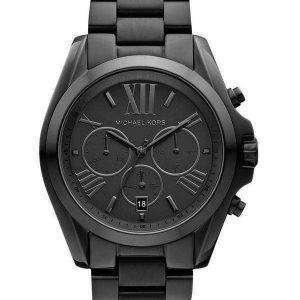Michael Kors Bradshaw Cronógrafo Reloj MK5550 Unisex enchapado en ión negro