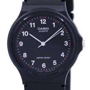 Reloj Casio Classic analógico cuarzo negro resina MQ-24-1BLDF MQ24-1BLDF para hombre