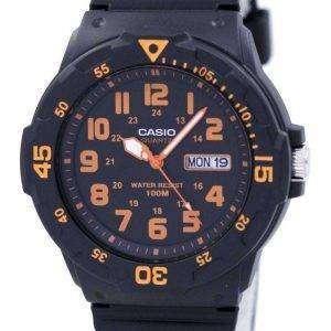 Reloj Casio cuarzo analógico Dial negro MRW-200H-4BVDF Varonil de MRW-200H-4BV