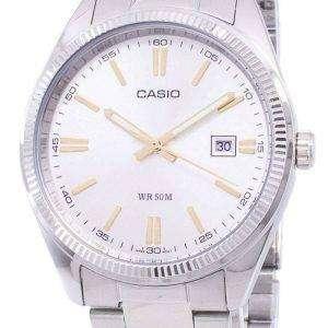 Casio Enticer analógico MTP-1302D-7A2VDF MTP-1302D-7A2V reloj de hombres