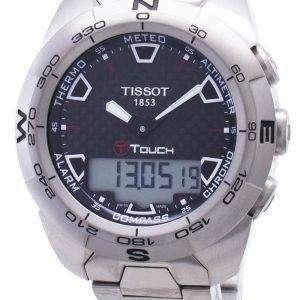 Tissot T-Touch Expert Titanium T013.420.44.201.00 T0134204420100 Reloj Compass para hombre