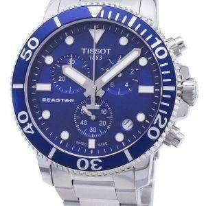 Tissot T-Sport Seastar 1000 T120.417.11.041.00 T1204171104100 Reloj de hombre cronógrafo 300M