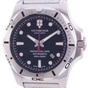 Victorinox Swiss Army INOX Professional Diver Anti-Magnetic 241781 Reloj de cuarzo 200M para hombre