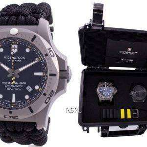 Victorinox Swiss Army INOX Professional Diver Titanium Anti-Magnetic 241812 Quartz 200M Reloj para hombre