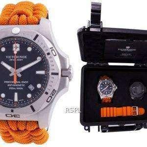 Victorinox Swiss Army INOX Professional Diver Anti-Magnetic 241845 Quartz 200M Reloj para hombre