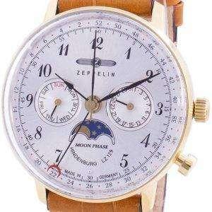 Zeppelin Hindenburg LZ129 7039-1 70391 Quartz Moon Phase Reloj para hombre