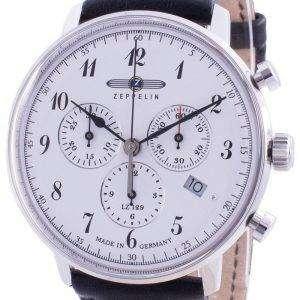 Zeppelin Hindenburg LZ129 7086-1 70861 Reloj cronógrafo de cuarzo para hombre