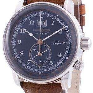Zeppelin LZ126 Los Angeles 8644-3 86443 Reloj de pulso de cuarzo para hombre