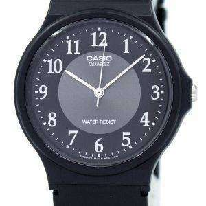 Casio Classic Analog Quartz Black Resin MQ-24-1B3LDF MQ-24-1B3L Men's Watch