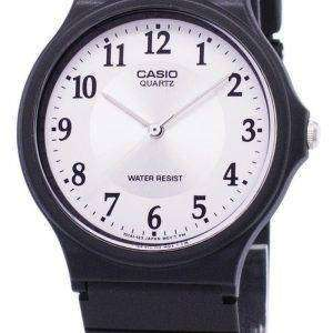 Casio Quartz Analog White Dial MQ-24-7B3LDF MQ-24-7B3L Men's Watch
