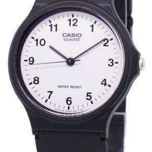 Casio Classic Analog Quartz White Dial MQ-24-7BLDF MQ-24-7BL Men's Watch