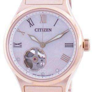 Citizen Automatic Open Heart PC1007-81D 100M Women's Watch