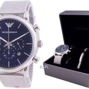 Emporio Armani Luigi Chronograph Quartz AR80038 With Gift Set Mens Watch