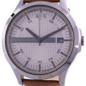 Armani Exchange Hampton Grey Dial AX2414 Quartz Men's Watch