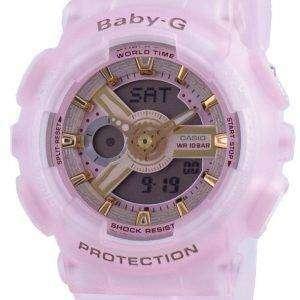 Reloj Casio Baby-G World Time Quartz BA-110SC-4A BA110SC-4A 100M para mujer