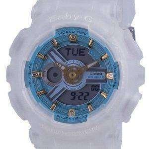 Reloj Casio Baby-G World Time Quartz BA-110SC-7A BA110SC-7A 100M para mujer